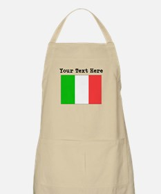 Custom Italy Flag Apron