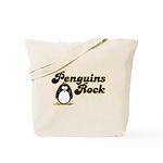 Penguins Rock Tote Bag