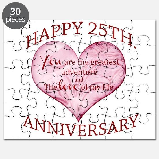 25th. Anniversary Puzzle