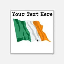 Custom Ireland Flag Sticker