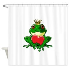 Prince Froggy Shower Curtain