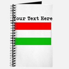 Custom Hungary Flag Journal