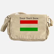 Custom Hungary Flag Messenger Bag