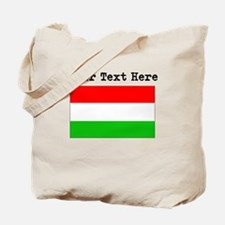 Custom Hungary Flag Tote Bag