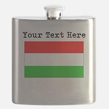 Custom Hungary Flag Flask