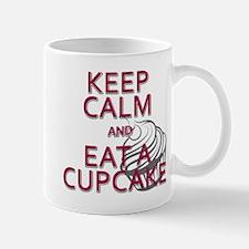 Keep Calm & eat a Cupcake Mug