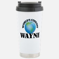 World's Coolest Wayne Travel Mug