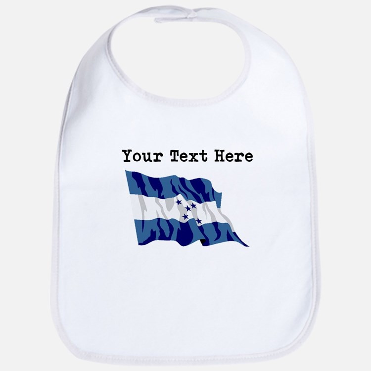 Custom Honduras Flag Bib