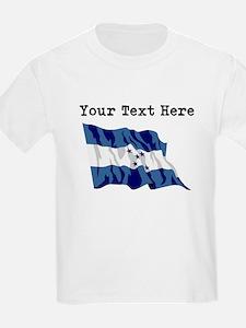 Custom Honduras Flag T-Shirt