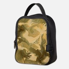Swirling Desert Camo Neoprene Lunch Bag