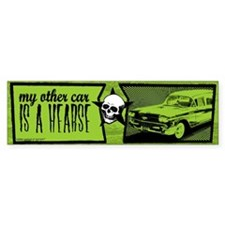 my other car is a hearse