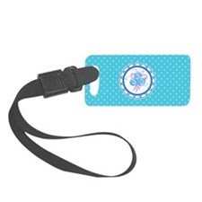 Lace work Luggage Tag
