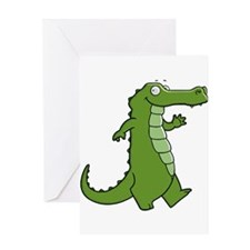 Later Gator Greeting Cards