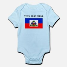 Custom Haiti Flag Body Suit