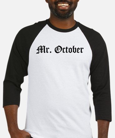 Mr. October Baseball Jersey