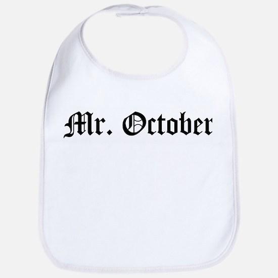 Mr. October Bib