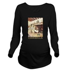 CINDERELLA2_GOLD.png Long Sleeve Maternity T-Shirt