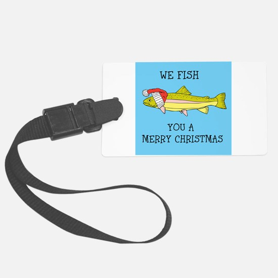 SANTA FISH Luggage Tag