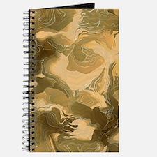 Swirling Desert Camo Journal