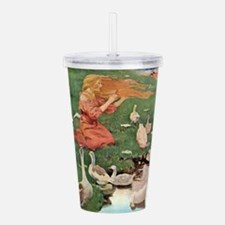 The Goose Girl.png Acrylic Double-wall Tumbler