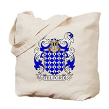 Telford Coat of Arms Tote Bag