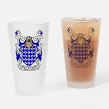 Telford Coat of Arms Drinking Glass
