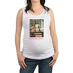 GOLDILOCKS_PINK.png Maternity Tank Top