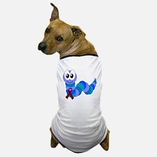 Burgundy Awareness Ribbon Caterpillar Dog T-Shirt