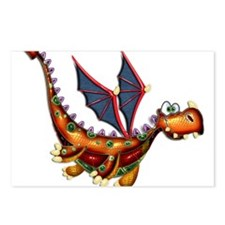 Goofy Flying Dragon Postcards (Package of 8)