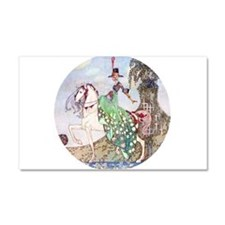 In Powder and Crinoline012_SQ.png Car Magnet 20 x