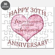 30th. Anniversary Puzzle