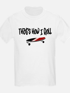 Skateboard Roll T-Shirt