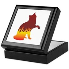 Van Flames Keepsake Box