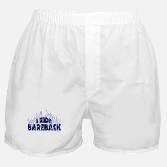 I ride Bareback Boxer Shorts