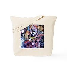"""Legendary Eagle Heart Moon Rhino."" Tote Bag"