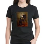Lincoln's Dachshund Women's Dark T-Shirt