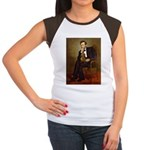 Lincoln's Dachshund Women's Cap Sleeve T-Shirt