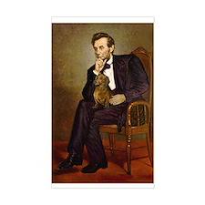 Lincoln's Dachshund Decal