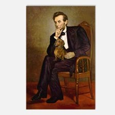 Lincoln's Dachshund Postcards (Package of 8)