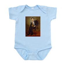 Lincoln's Dachshund Infant Bodysuit