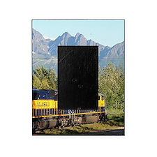 Alaska Railroad locomotive engine & Picture Frame