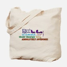 Awesome Words Tote Bag