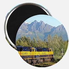Alaska Railroad locomotive engine Magnets