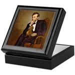 Lincoln's Dachshund Keepsake Box