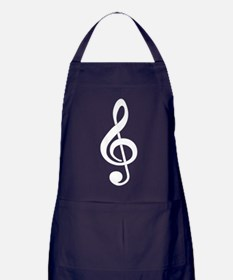 Born To Sing Notes Apron (dark)