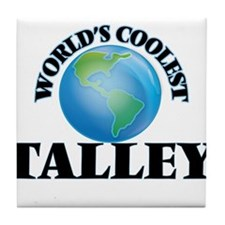 World's Coolest Talley Tile Coaster