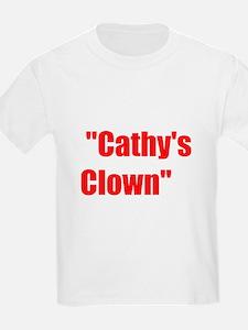 Cathy's Clown song T-Shirt