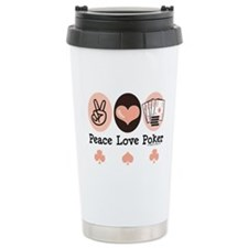 Cute Poker Travel Mug