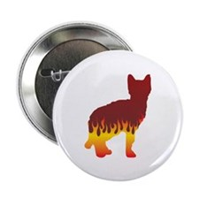 "Sokoke Flames 2.25"" Button (10 pack)"