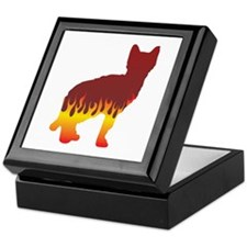 Sokoke Flames Keepsake Box